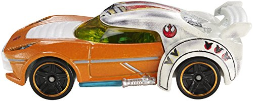 Hot Wheels Star Wars Character Car, Luke Skywalker - 1