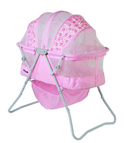 Dream On Me Karley Bassinet, Pink front-868760
