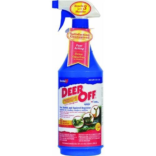 Havahart Deer Off DO32RTU Deer Rabbit and Squirrel Repellent 32 Ounce Ready-to-Use Spray