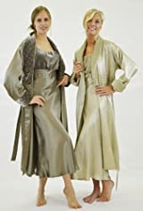 Long Robe with velvet shawl collar