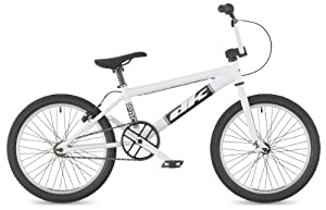 "DK Pro 2011 BMX Bike, 20"" White with white rims"