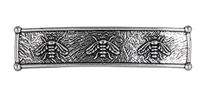 Honey Bee Hair Clip | Hand Crafted Metal Barrette Made in the USA with imported French Clips By Oberon Design ...