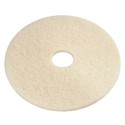 """PRO-LINK® Beige Poly Thermal Burnish Pad - 20"""""""