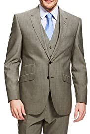 Ultimate Performance Wool Blend 2 Button Suit [T15-2055-S/T15-2056-S]