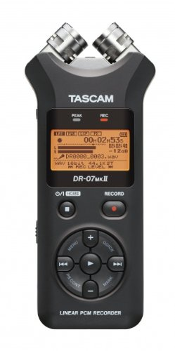 Tascam Dr-07Mkii Portable Digital Recorder front-181942