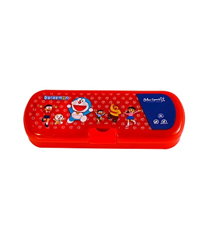 Sunshine Doraemon Set Of 12 Pencil Boxes For Birthday Return Gifts Party Favor Assorted