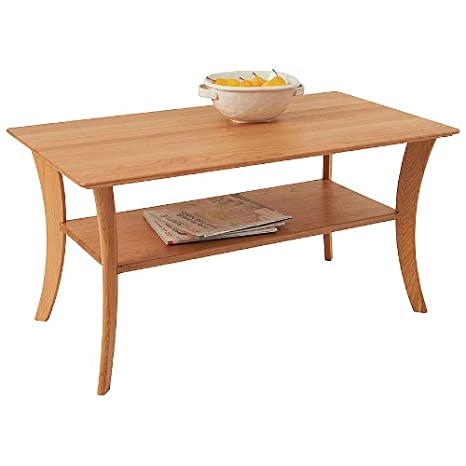 Manchester Wood Rectangular Cherry Coffee Table - Natural Cherry