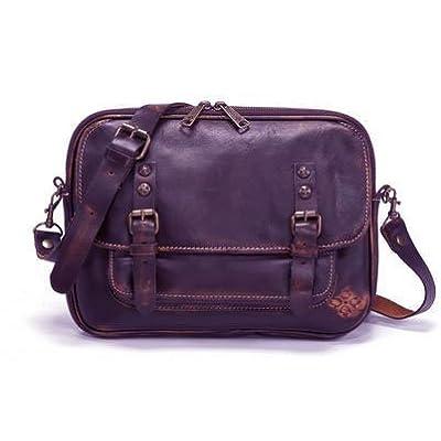 Patricia Nash Leon East West Flap Bag Sapphire: Handbags