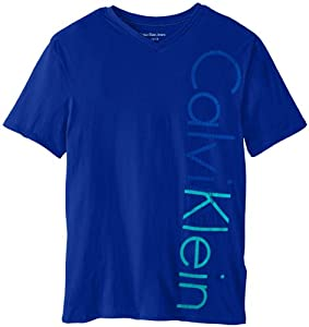 Calvin Klein Boys 8-20 Icon V-Neck Tee from Calvin Klein