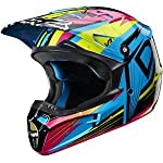 Fox Racing V1 Undertow Helmet - 2X-Large/Green/Blue