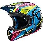 Fox Racing V1 Undertow Helmet - 2X-Large/Green/Blue