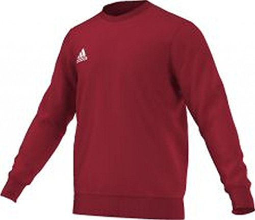 adidas felpa uomo-shirt Coref swt top Rosso Power Red/White XS