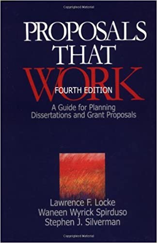 Proposal and dissertation help plan