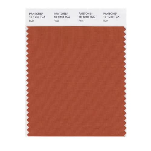 PANTONE SMART 18-1248X Color Swatch Card, Rust - Wall Decor Stickers