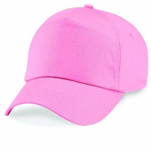 Cappellino da baseball 5 Chiusura a strappo unisex misura tanti colori - Unisex, Cotone, Rosa