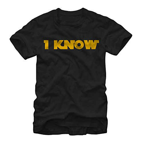 Star Wars Han Solo I Know Mens L Graphic T Shirt - Fifth Sun