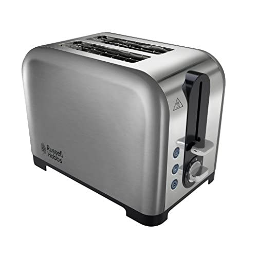 Russell Hobbs 2 Slice Brushed  Polished Wide Slot Toaster