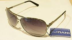Invu Aviator Sunglasses (Black) (B1407-A)