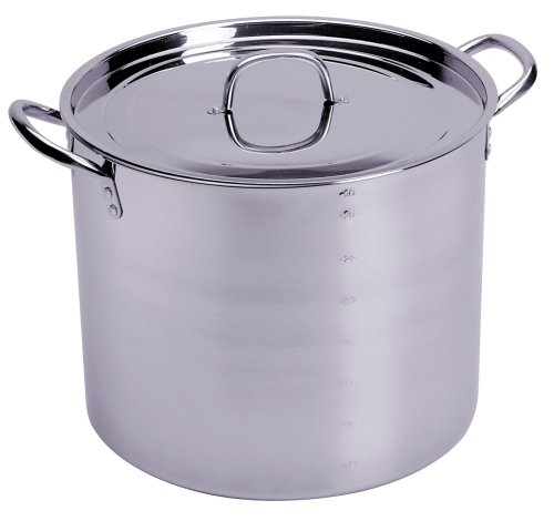 Progressive International Stainless Steel 30 Quart Stock Pot