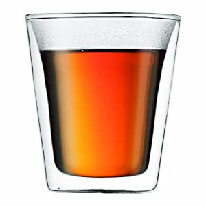 Bodum 10109-10 Canteen 2 Stück Glas, doppelwandig, 0,2 L