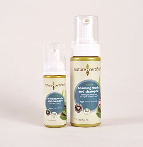 100% Natural Foaming Body Wash & Shampoo - 150 ML