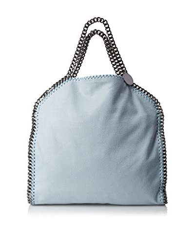 Stella McCartney Women's Falabella Shaggy Deer Fold Over Tote, Ice