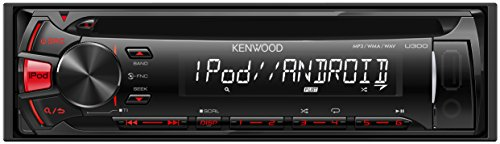 KENWOOD MP3/WMA/AAC/WAV対応CD/USBレシーバー U300R