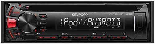 KENWOOD MP3/WMA/WAV対応CD/USBレシーバー U300R