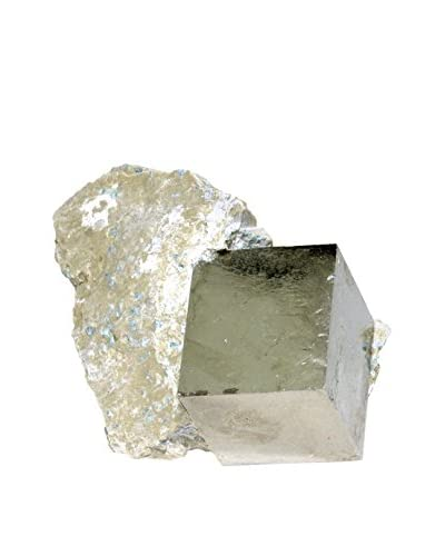 Uptown Down Natural Pyrite Specimen