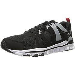 Reebok Hexaffect Men's Run 2.0 Running Shoes - Black/White/Grey