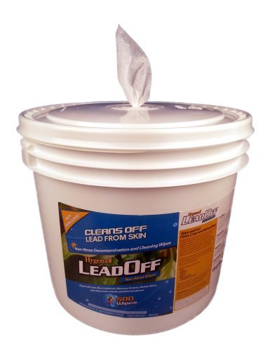 Hygenall LeadOff Wipes 500 count tub LR910NRTB (Lead Remover Soap compare prices)