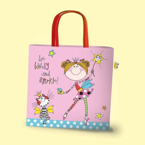 Rachel Ellen Children's Mini Tote Bag - Fairy Be Lovely & Sparkle