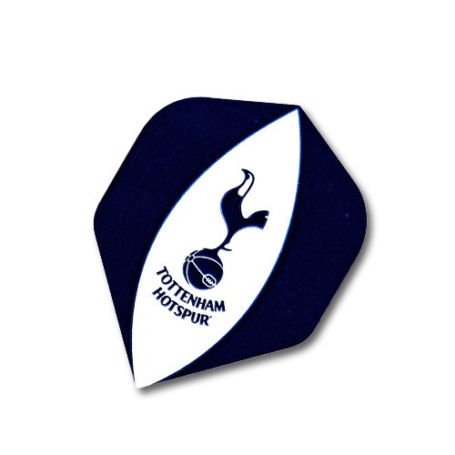 F2057 Tottenham Hotspur Football Club Dart Flights- 3 Sets pro pack (9 flights insgesamt).