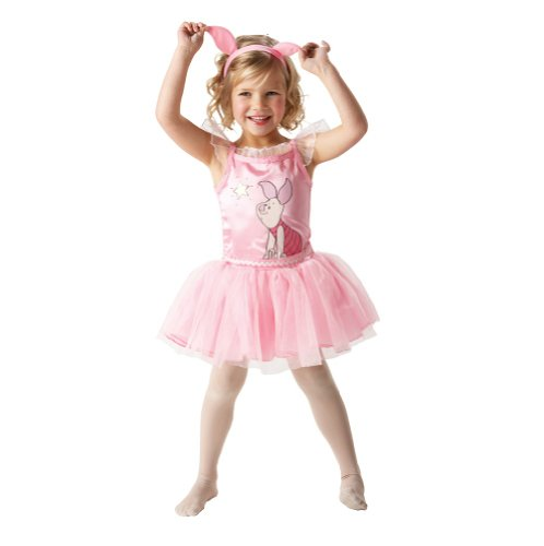 DISNEY PIGLET BALLERINA GIRLS CHILDRENS FANCY DRESS PARTY KIDS HALLOWEEN COSTUME