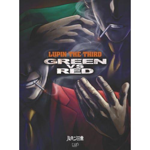 ルパン三世 GREEN vs RED 【通常版】本編DVD+サントラCD