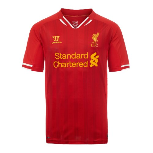 LFC Mens Home S/S Shirt 13/14, RED, Small