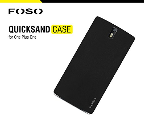 for OnePlus One FOSO(TM) QuickSand Back Case - QuickSand (Rough) Phone Cover Shell