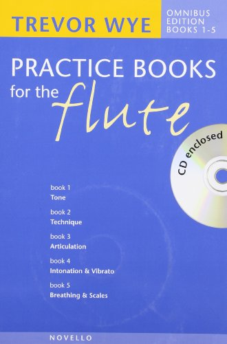 Trevor Wye: Bk. 1-5: Practice Books for the Flute - Omnibus Edition