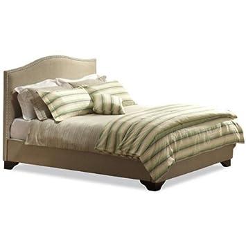 Magnolia Upholstered Platform Bed - Size Queen