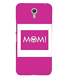 Mom Mummy Maa Mata Cute Fashion 3D Hard Polycarbonate Designer Back Case Cover for Lenovo ZUK Z1