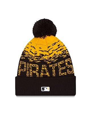 MLB Pittsburgh Pirates Headwear, Yellow/Black, One Size