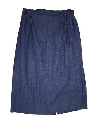 alfred dunner classics elastic waist skirt