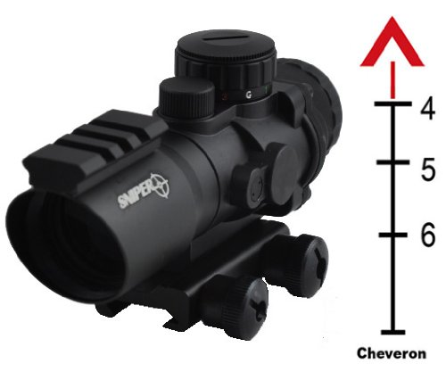 Why Choose The Sniper Tactical Prism Scope with Single Rail on Top and Chevron Reticle