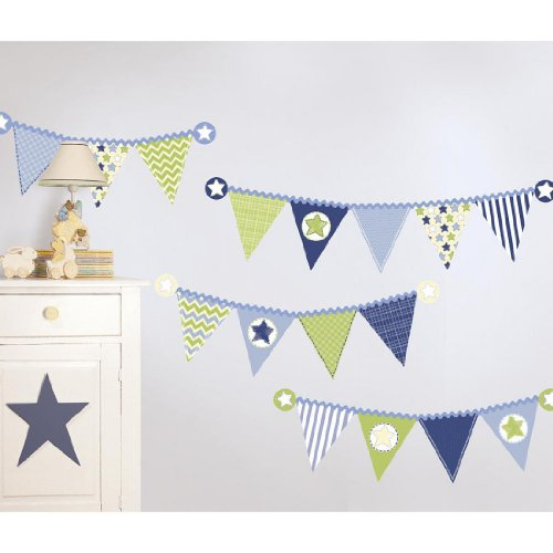 Koala Baby Fun Flags Wall Art Kit - 1