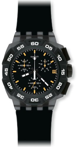 Swatch Men's Black Hero Watch SUIB414