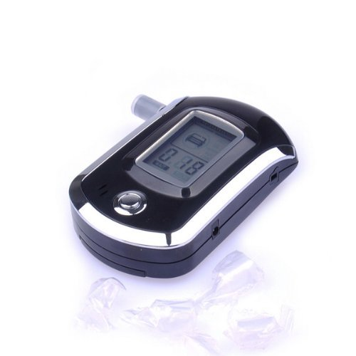 Portable Digital Breath Alcohol Tester Breathalyzer For Police front-581073