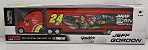 2013 Jeff Gordon #24 AARP Drive to End Hunger 1 64th Scale Hauler Transporter Semi... by Chase Authentics