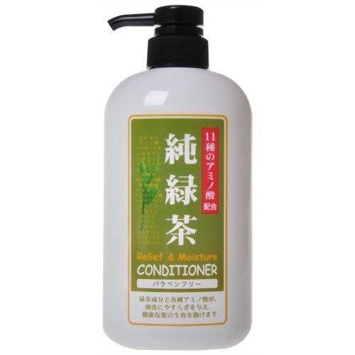 純ケミファ 純緑茶 コンディショナー 600ml