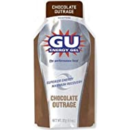 GU Sports Energy Gel - Box of 24 (Chocolate Outrage)