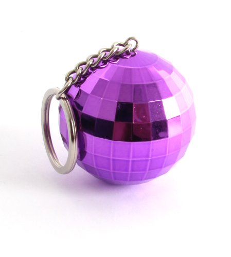 Thumbs Up Uk Glitter Ball Speaker - Retail Packaging - Purple